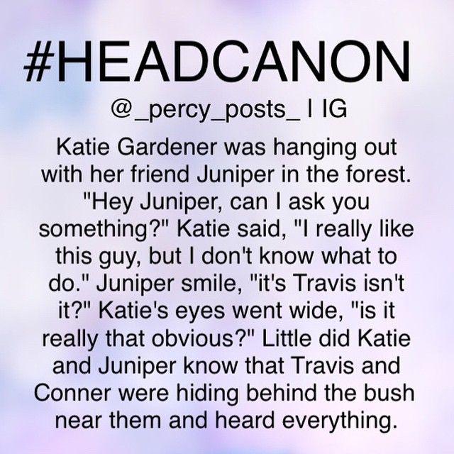 Travis Stoll And Katie Gardner Google Search Percy Jackson Headcanon Pi