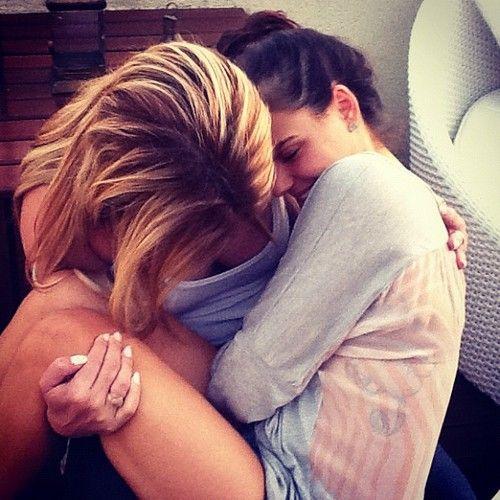 Lesbian Teens Cuddling Kissing 26