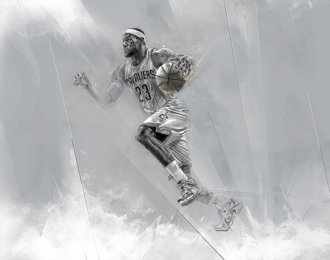 reputable site 45e49 db63f HOUSE OF HOOPS 15 on Behance | Sports | Basketball art ...