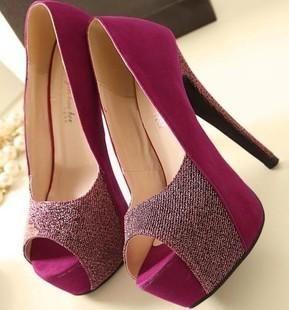 Purple Ladies Shoes Heels - http://ikuzoladyshoes.com/purple ...