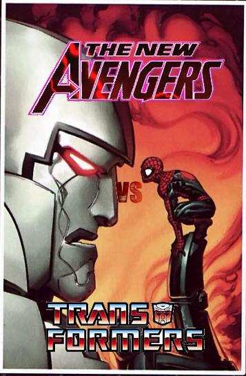 Gente Detras De Las Paredes New Avengers Vs Transformers 2007