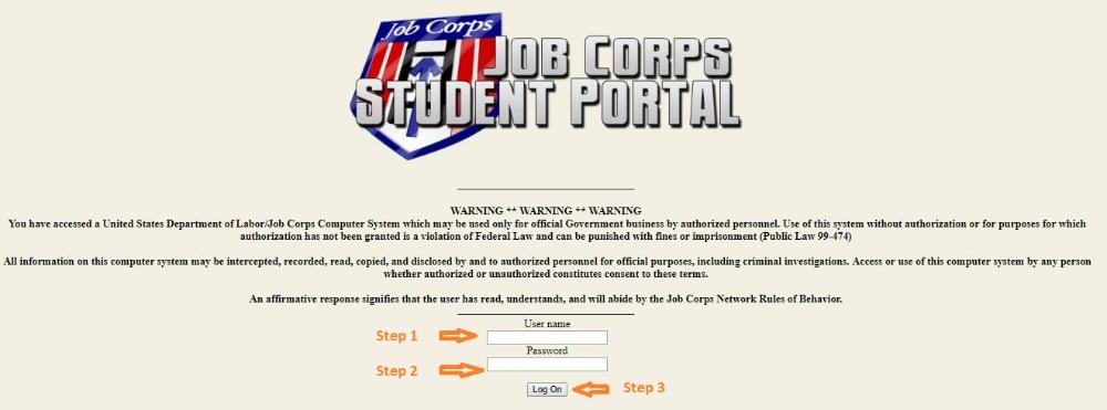 Job Corps Student Portal Login at Job