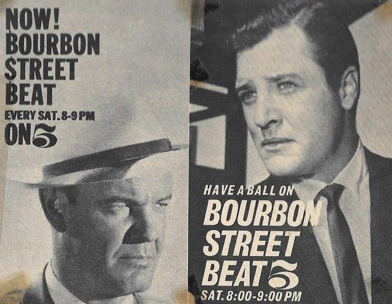 BOURBON STREET BEAT(1959-60) was a good series, but the least successful.  It starred Andrew Duggan, Richard Long, … | Classic television, Street beat,  Richard long