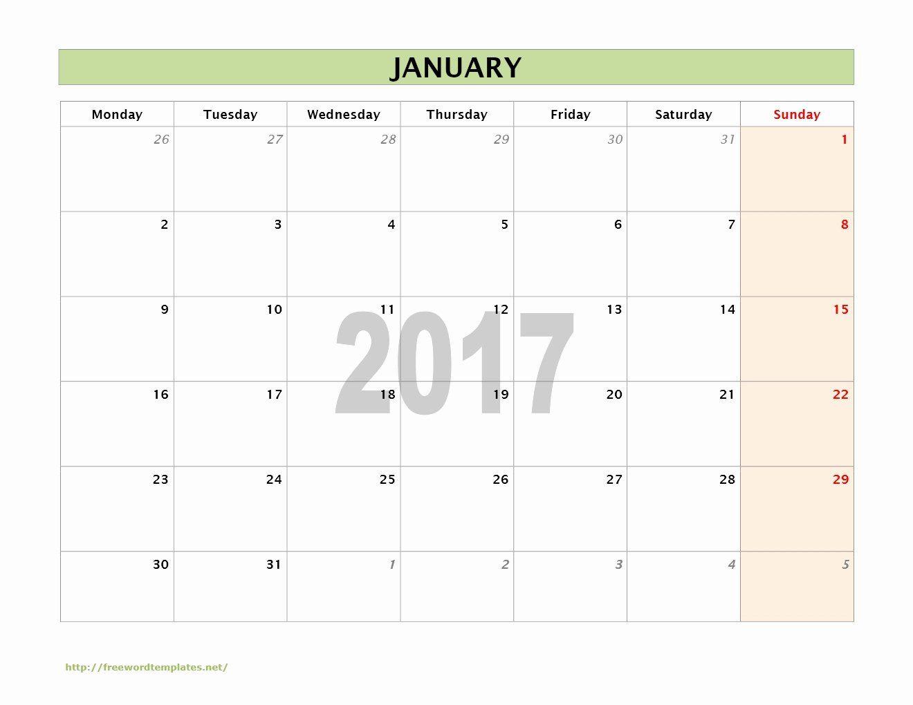 Free Blank Calendar Template 2017 Inspirational 2017 Calendar Templates In 2020 Free Calendar Template 2017 Calendar Templates Calendar Template