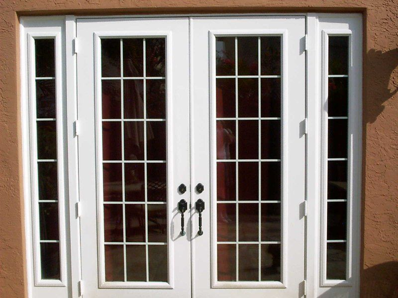 Glass Doors Home Depot Hurricane French Doors Great Design