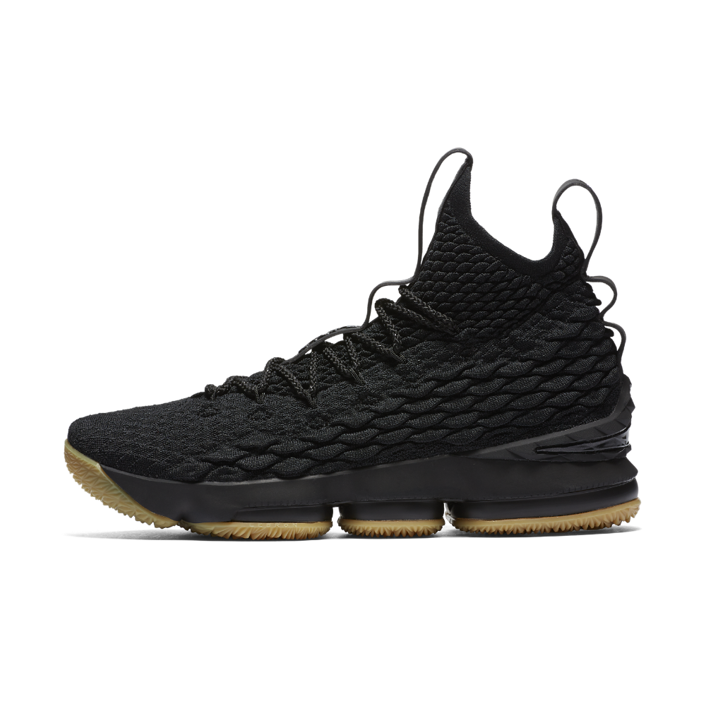 20f8cb1b334 Nike LeBron 15 Basketball Shoe Size 10.5 (Black)