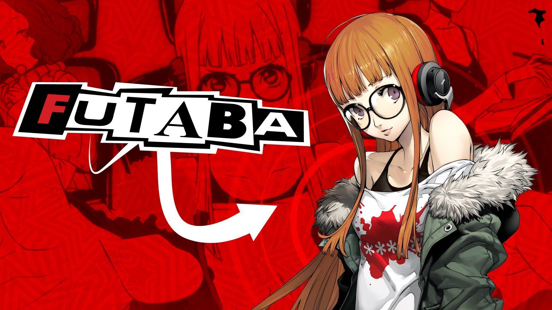 Persona 5 Logo Wallpaper 1920x1080 Persona 5 Persona Persona 5 Makoto