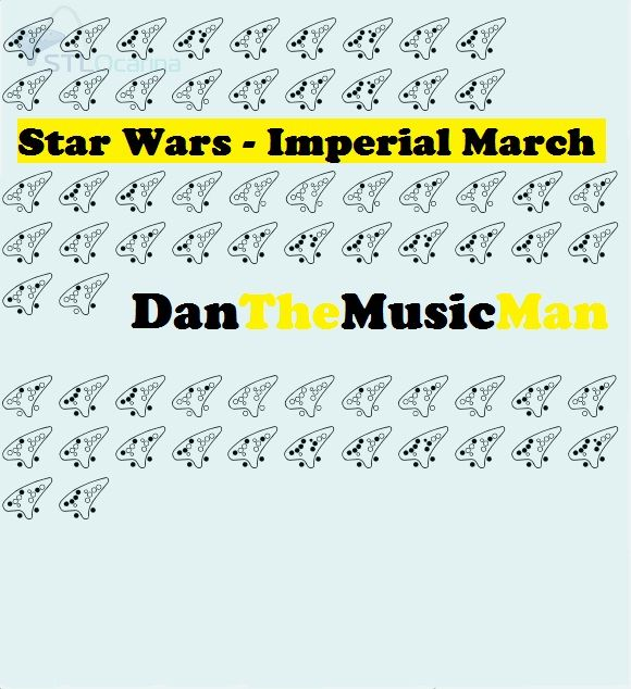 Sheet Music For Imperial March On Piano: 12 Hole Ocarina Sheet Music