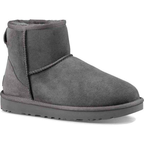 09f439fc990 UGG Women's Classic Mini II Grey Boots (535 ILS) ❤ liked on ...