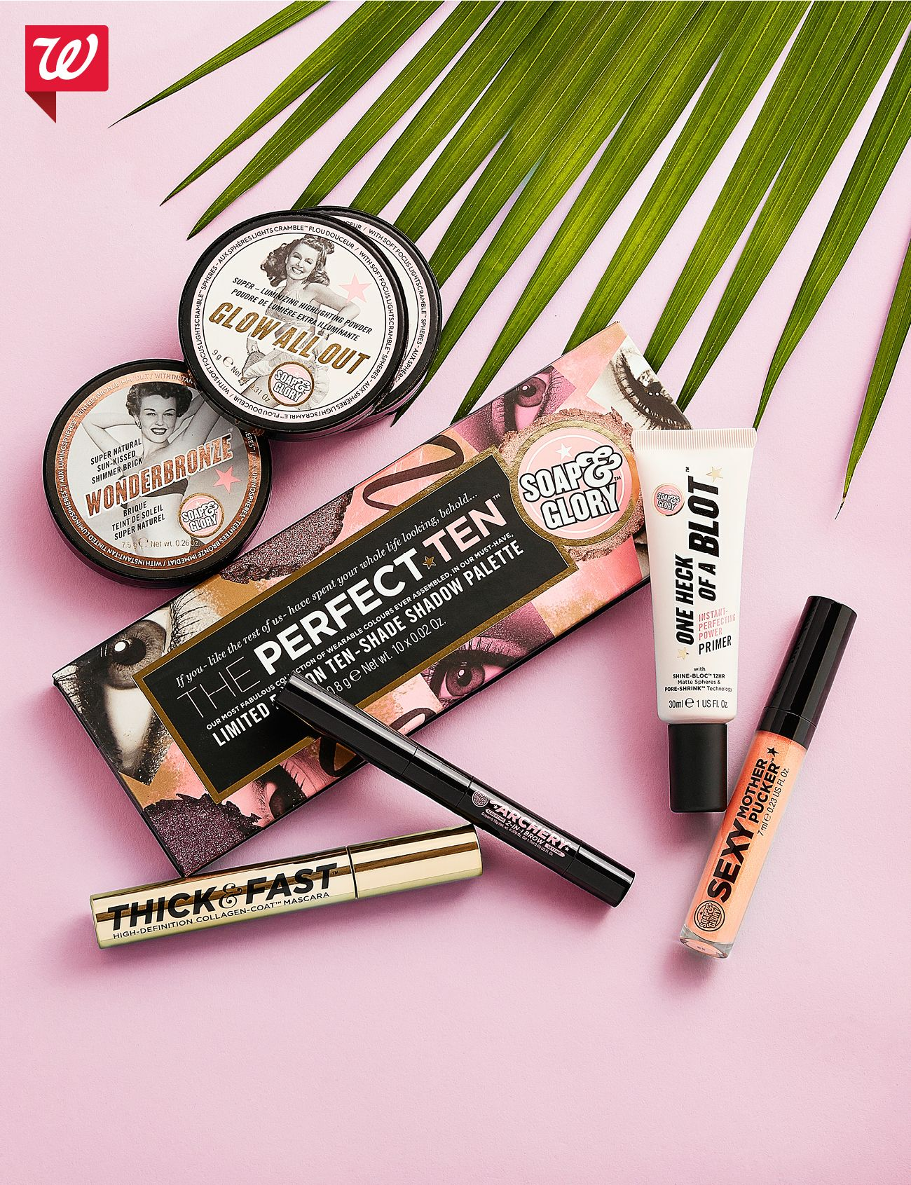 Play up festival season in looks by Soap & Glory! You won