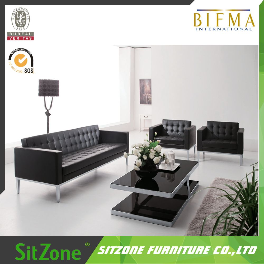 S04 Modern Office Sofa With Stainless Legs,Leisure Sofa,Executive ...