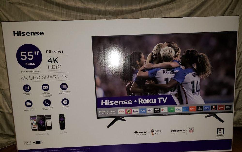 Hisense 55 4k Roku Tv Black Friday