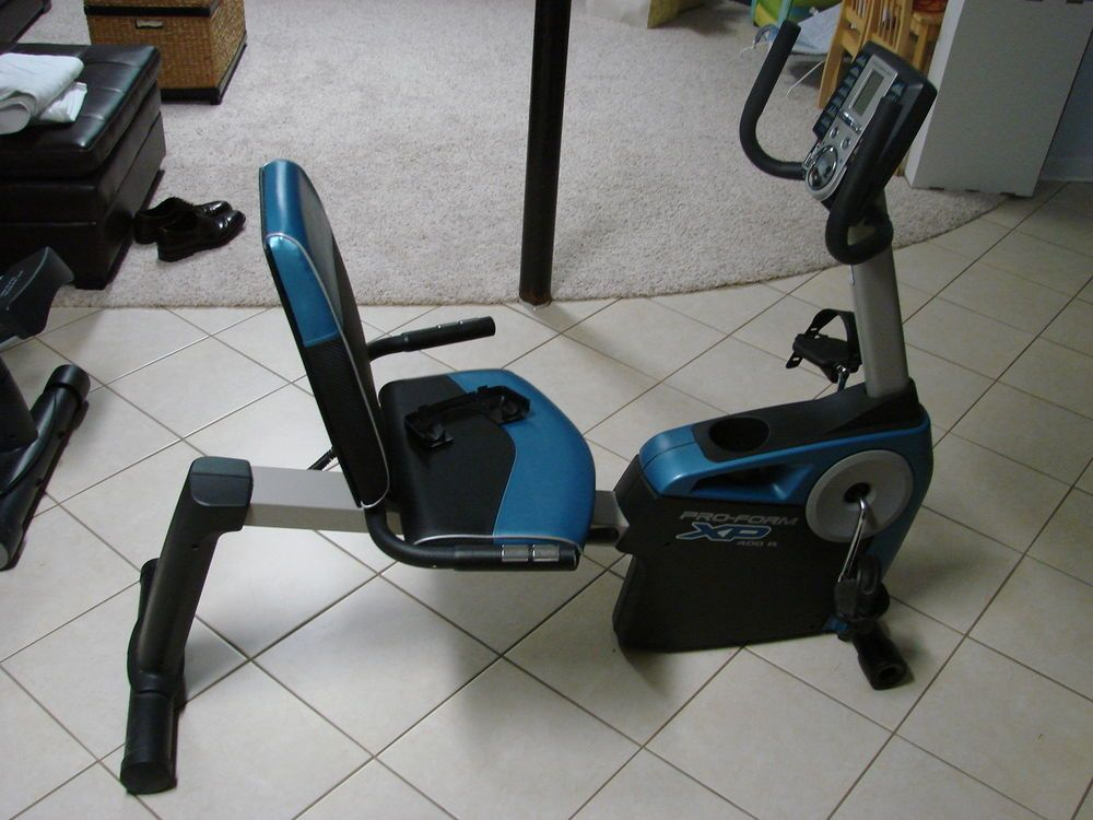 Proform Xp 400 R Recumbent Exercise Bicycle Bike Ifit Workout
