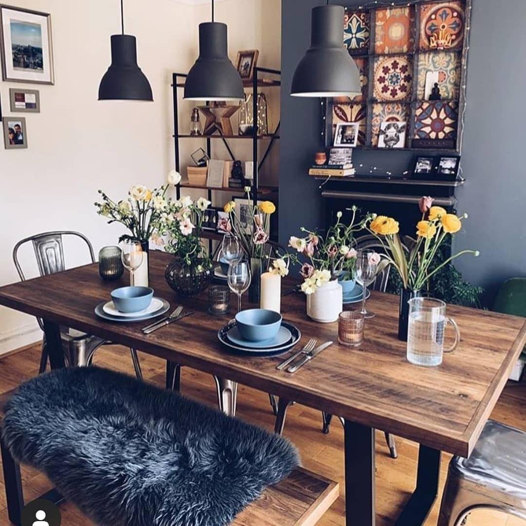 boho style decorating ideas and inspirations decor dining room decor interior on boho chic kitchen table decor id=94363