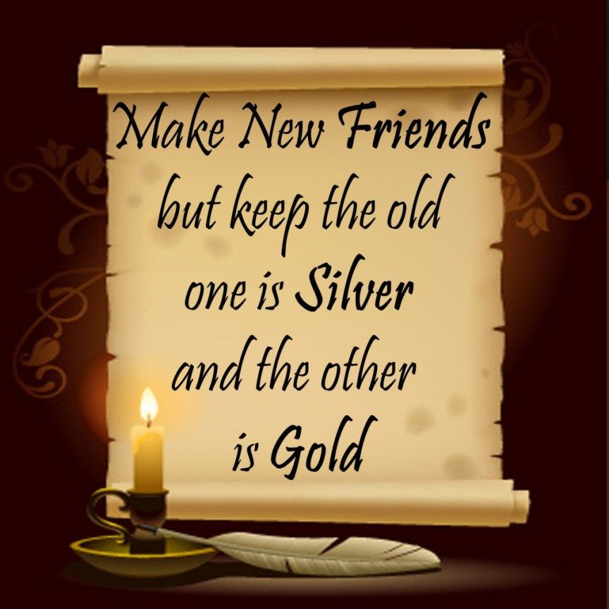 Quotes Friends Silver And Gold Cute Friendship Quotes New Friend Quotes Friend Love Quotes