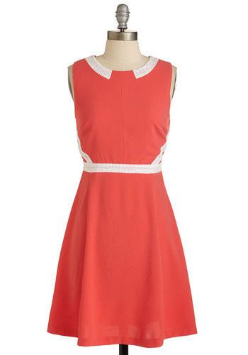 ModCloth Vintage Inspired Mid-length Sleeveless A-line Look and Luncheon Dress