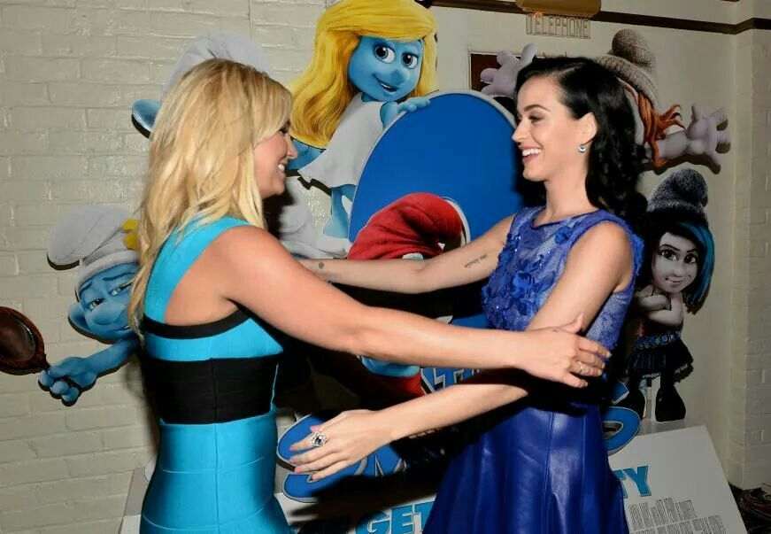Britney and Katy