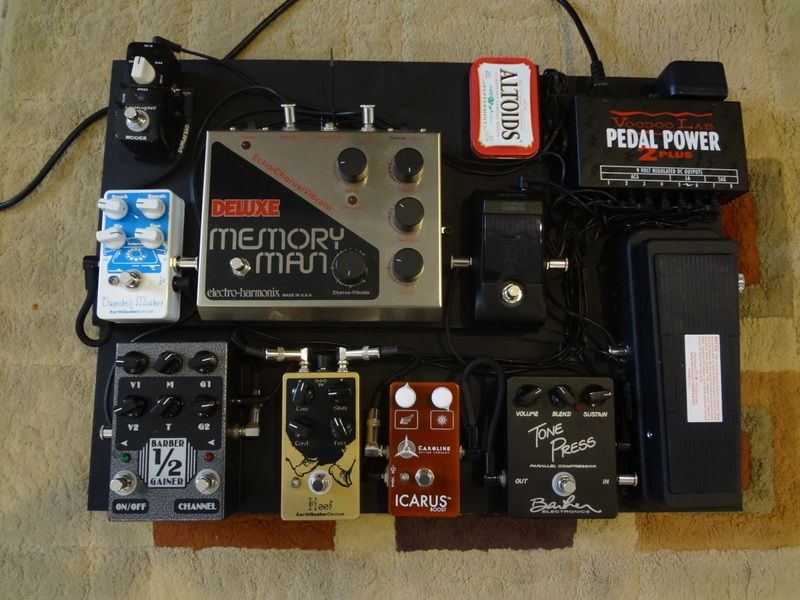 all those yummy pedals the pedal board pedalboard guitar pedals guitar accessories. Black Bedroom Furniture Sets. Home Design Ideas