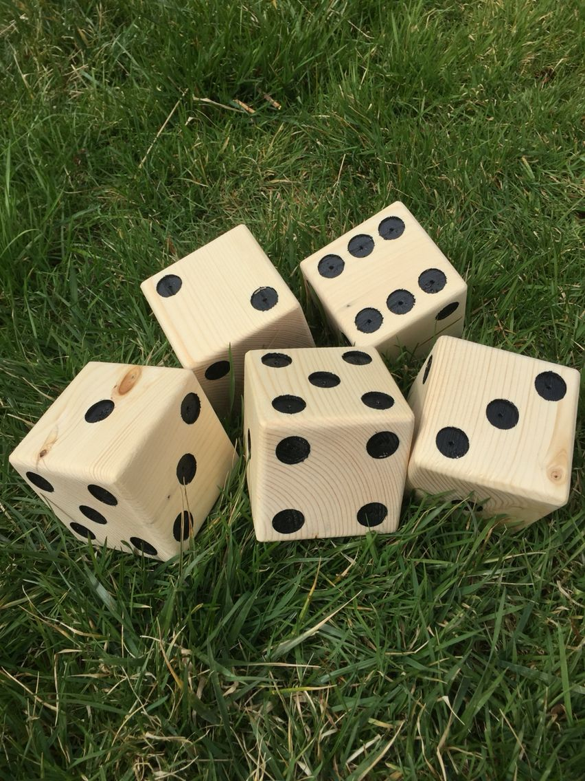 Lawn Dice Set Of 6 For 60 Great Any Play
