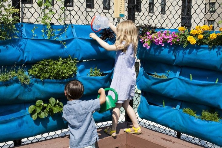 A Manhattan Nursery School Where Gardening Is In The Curriculum