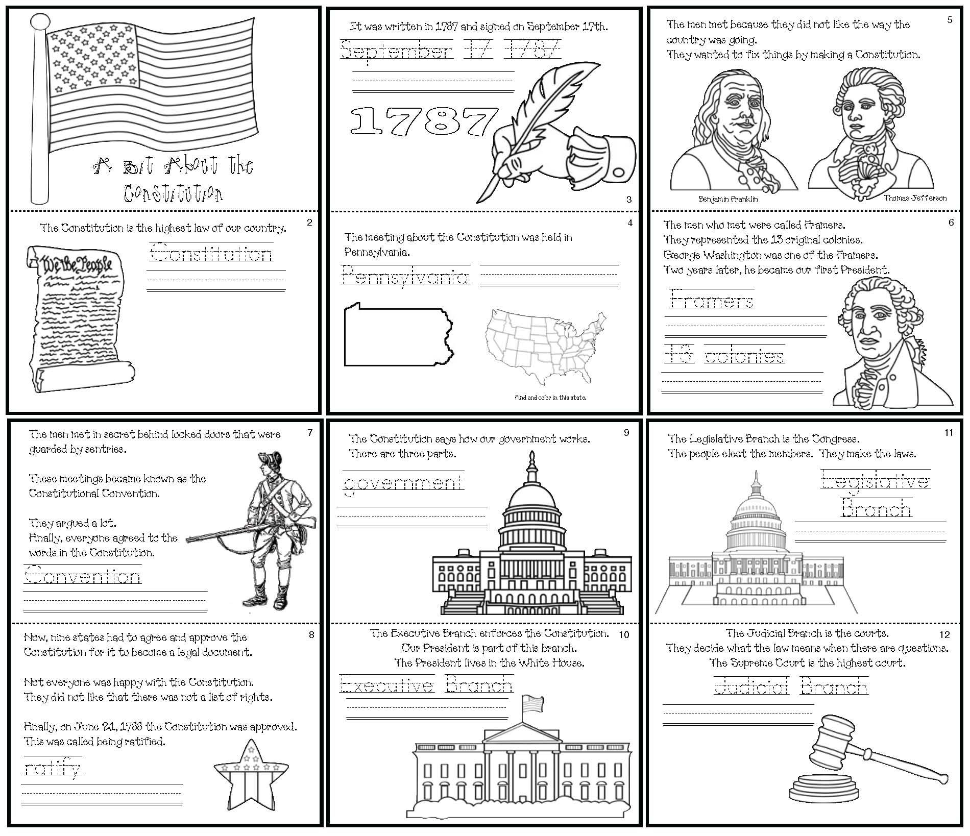 Quick Easy And Fun Constitution Day Activities