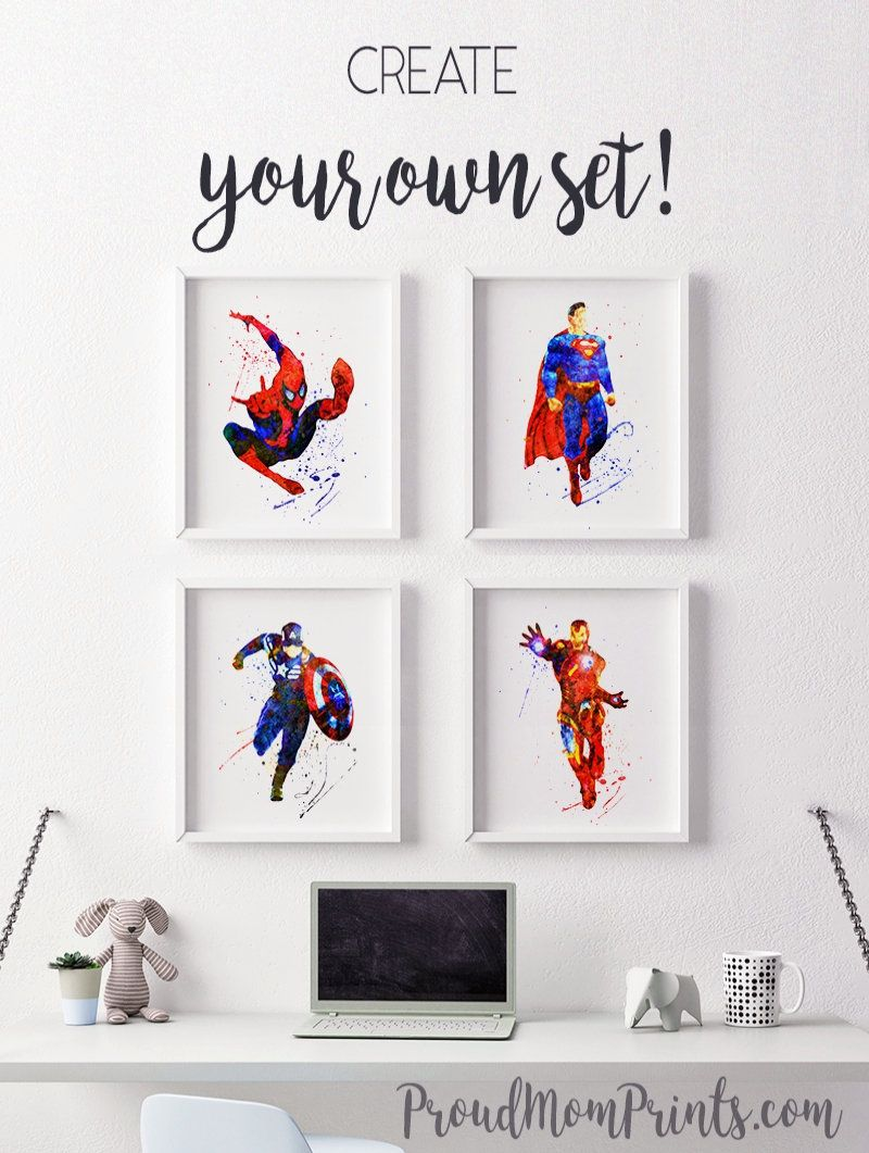 Spider Man Superhero Superhero Party Spider Man Art Superhero Birthday Spider Man Birthday Spider Ma Marvel Wall Art Superhero Wall Art Spiderman Wall Art