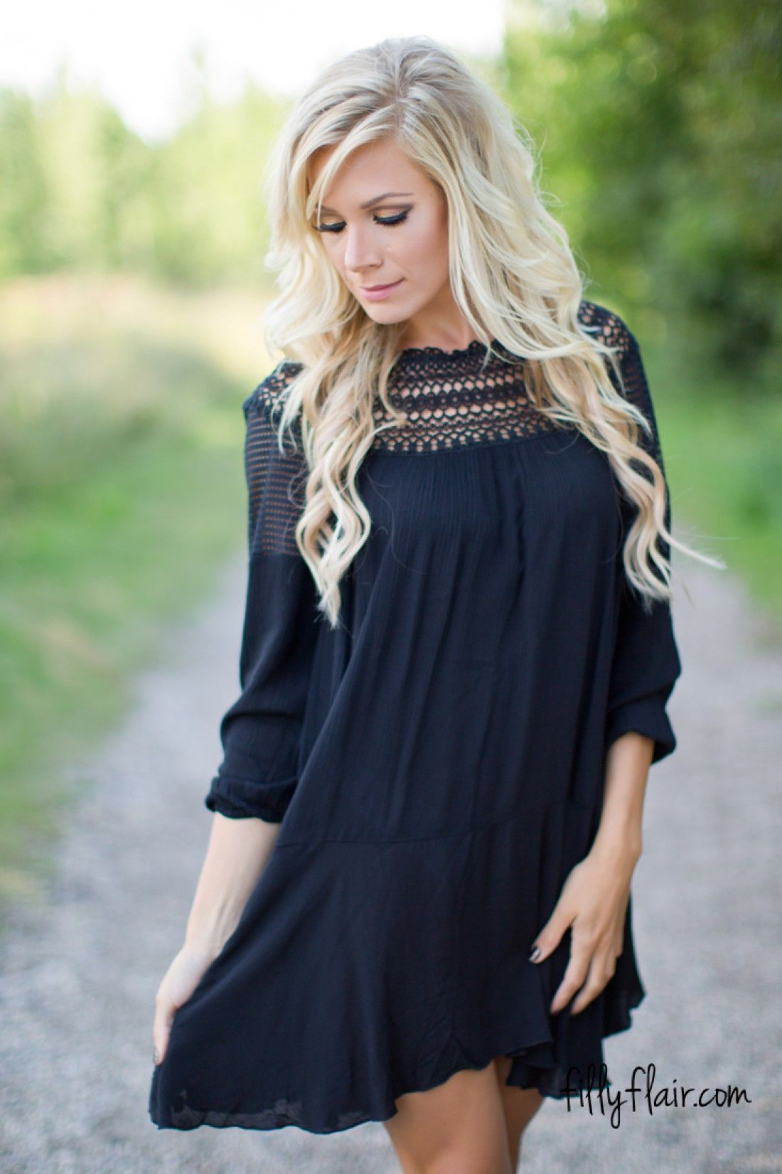 This Black Dress Needs To Be In Your Closet Women Clothing Boutique Country Dresses Dress Boutiques Online