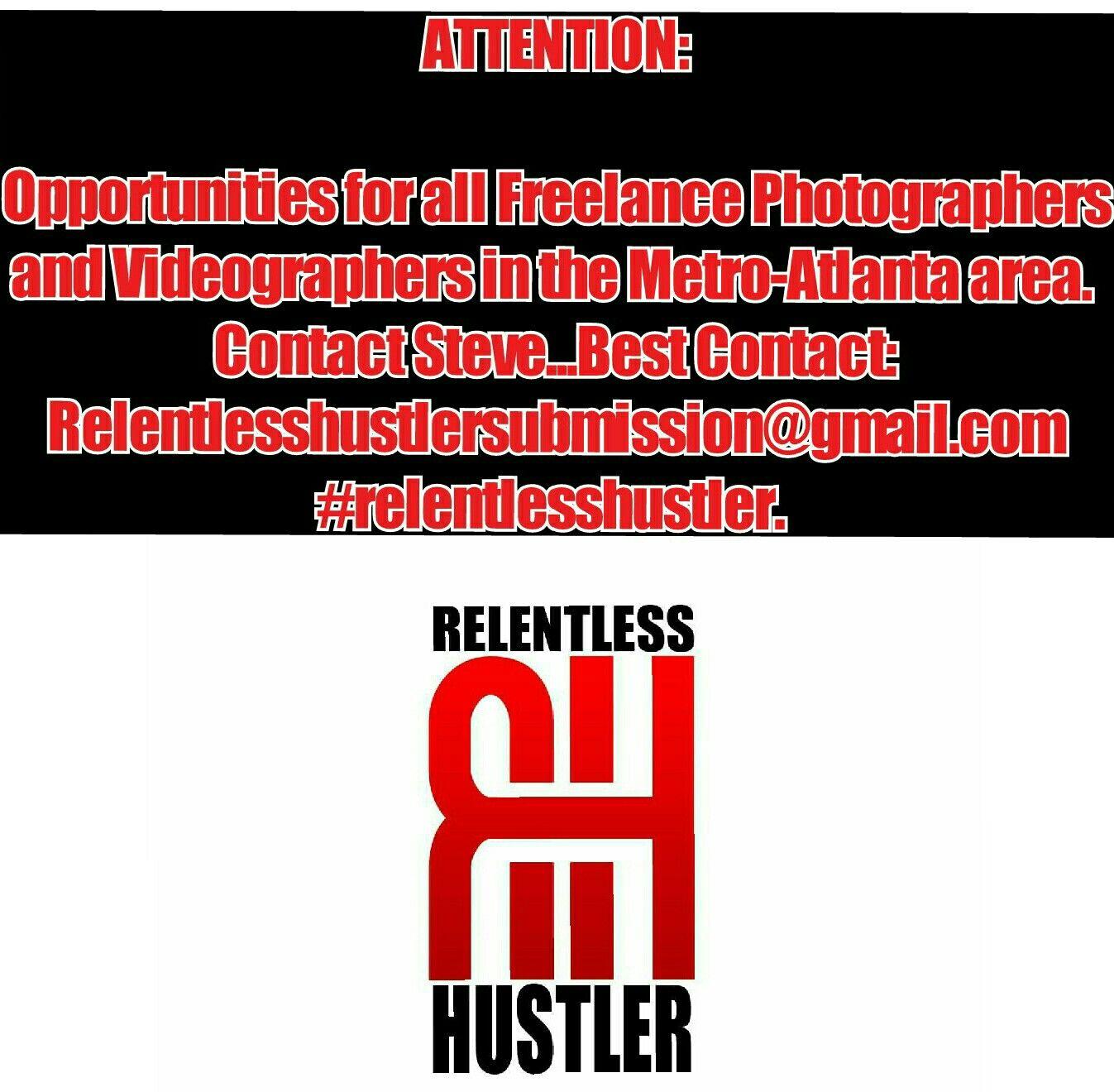 Contact Steve at Relentlesshustlersubmission@gmail.com
