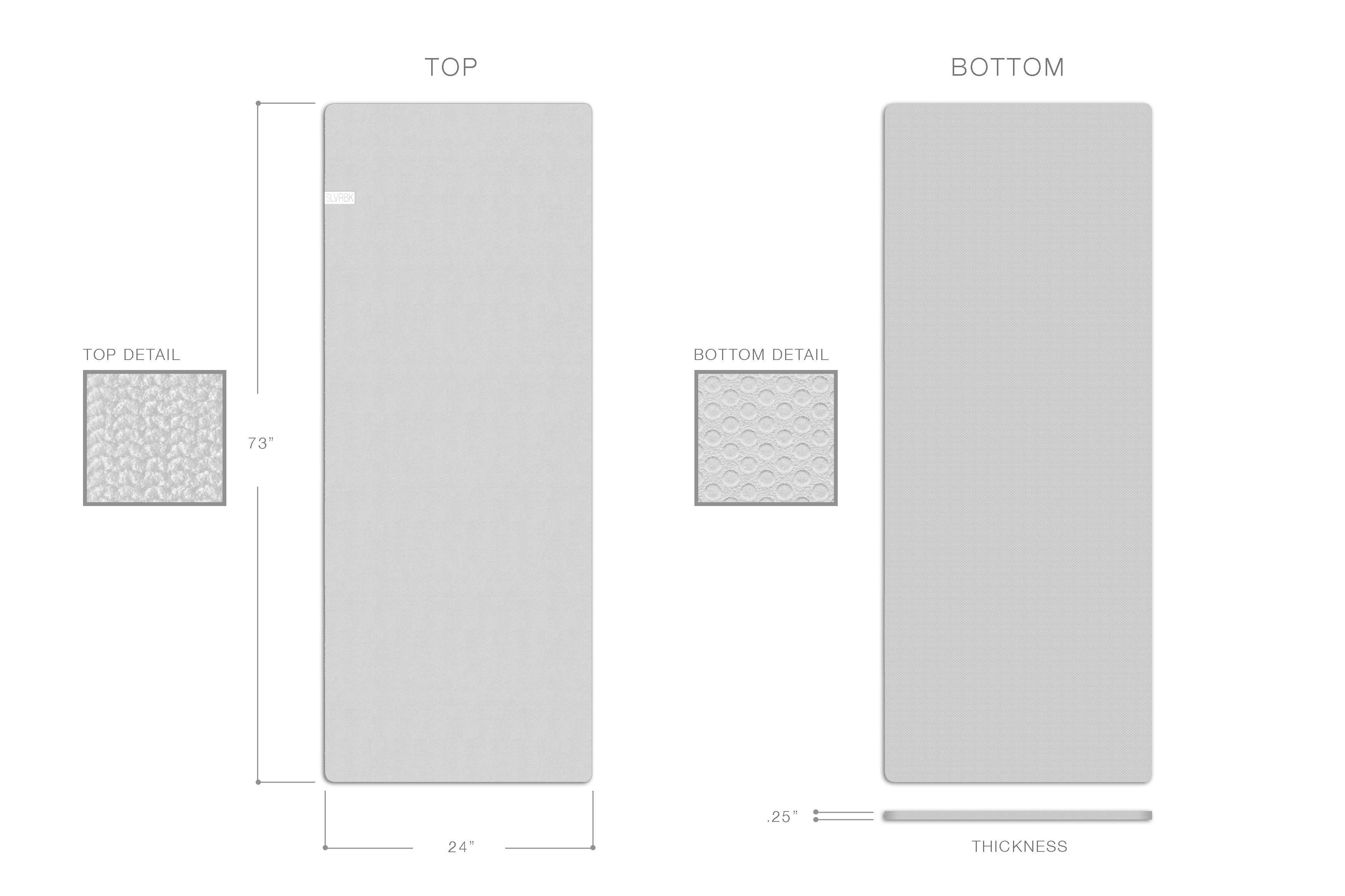 yoga mat dimensions - Google Search | Mats, Yoga mat ...