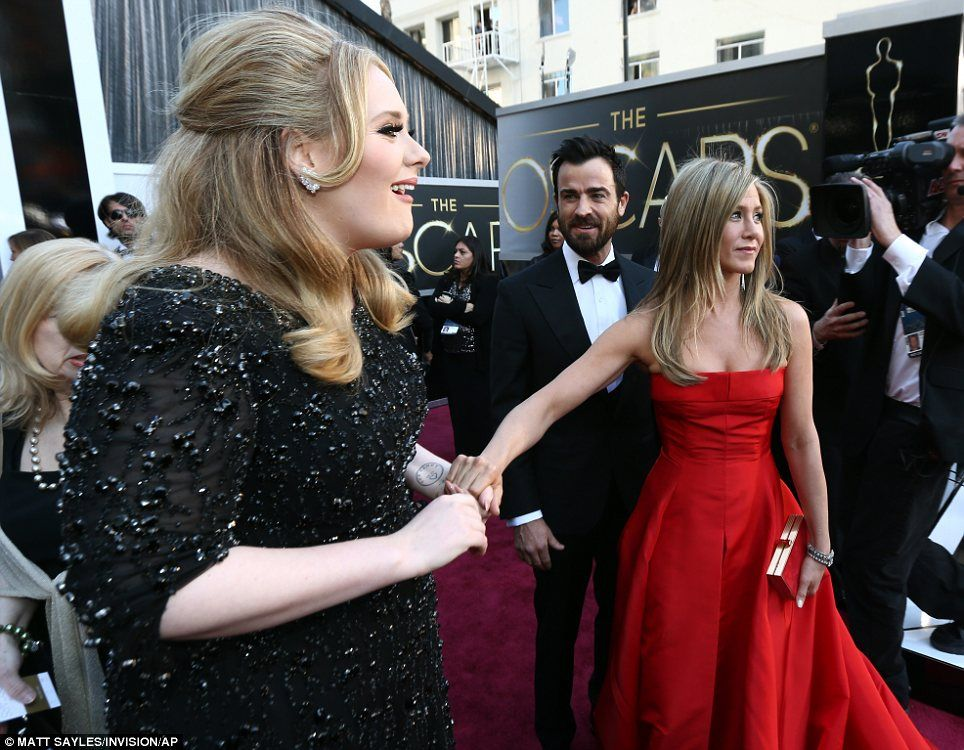 Pale and interesting! Jennifer Lawrence, Anne Hathaway and ...