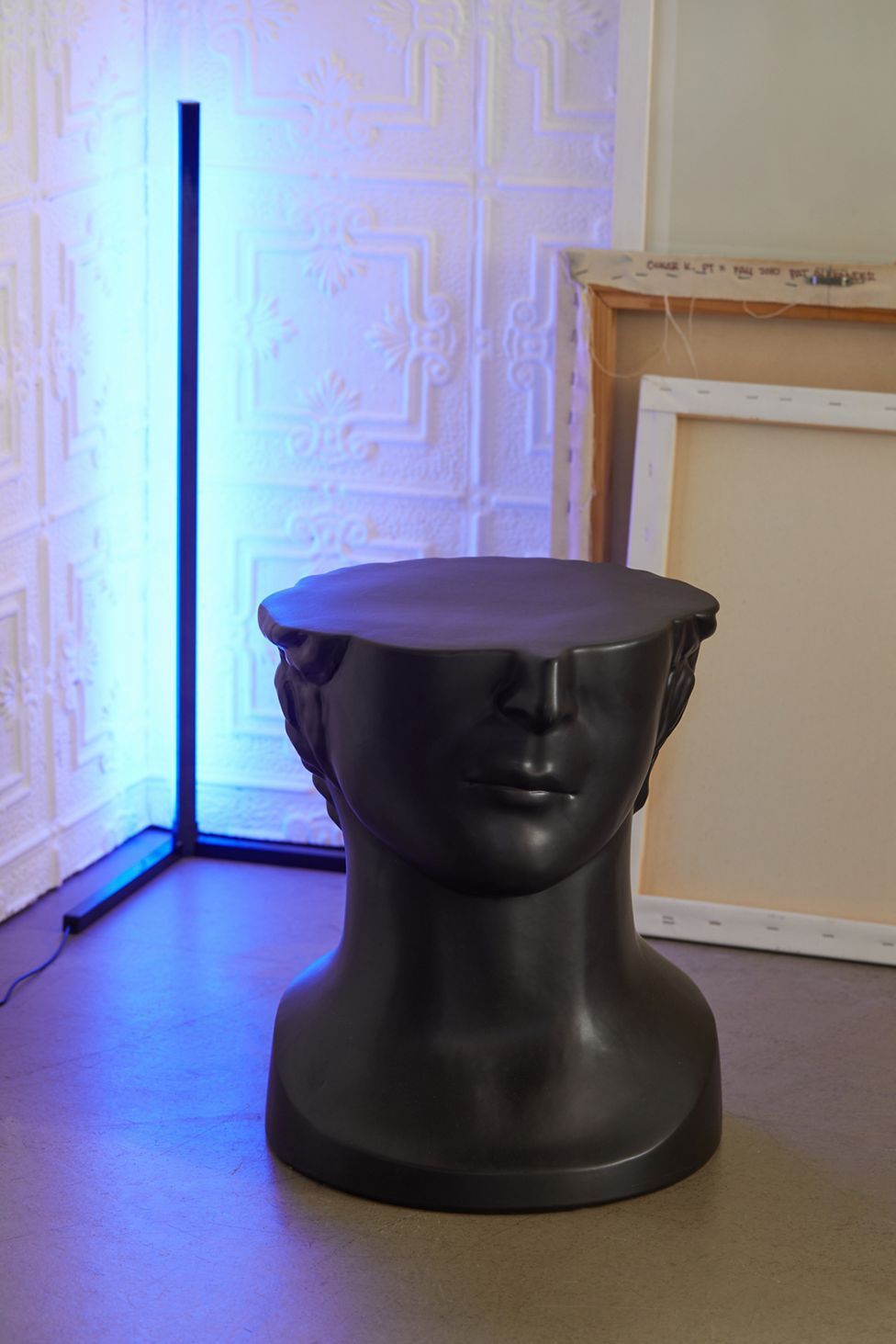 Bust Ceramic Side Table