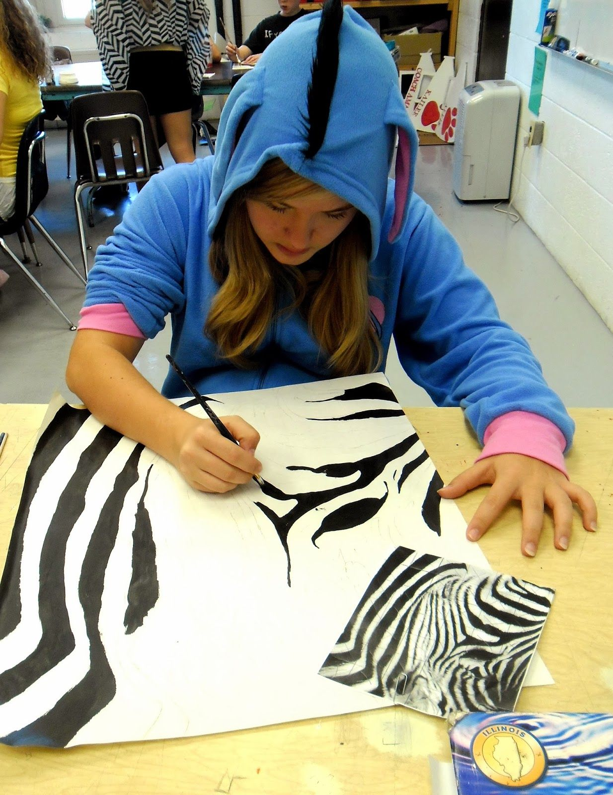 Lessons From The K 12 Art Room Cropped Animal Portrait