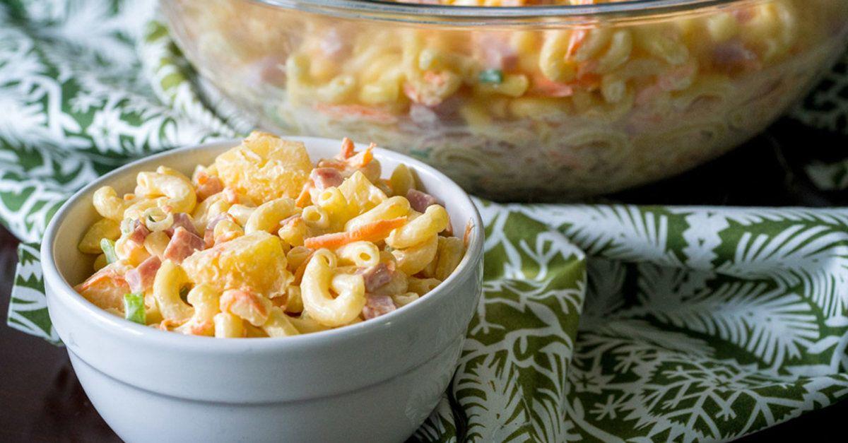 Hawaiian Macaroni Salad Recipe Healthy