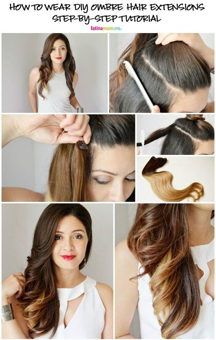 Get The Look Ombre Hair Extensions Best Of Latinamom