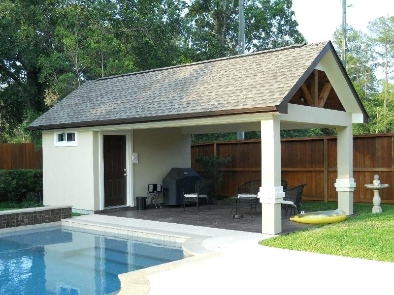 Oconnorhomesinc Com Fascinating Small Pool House With Bathroom Designs Plans Arts Small Pool Houses Pool House Plans Pool House Designs