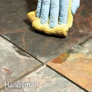 Grouting Tile Floors Porous And Uneven Tiles Tile Grout Floor Tile Grout Tile Floor