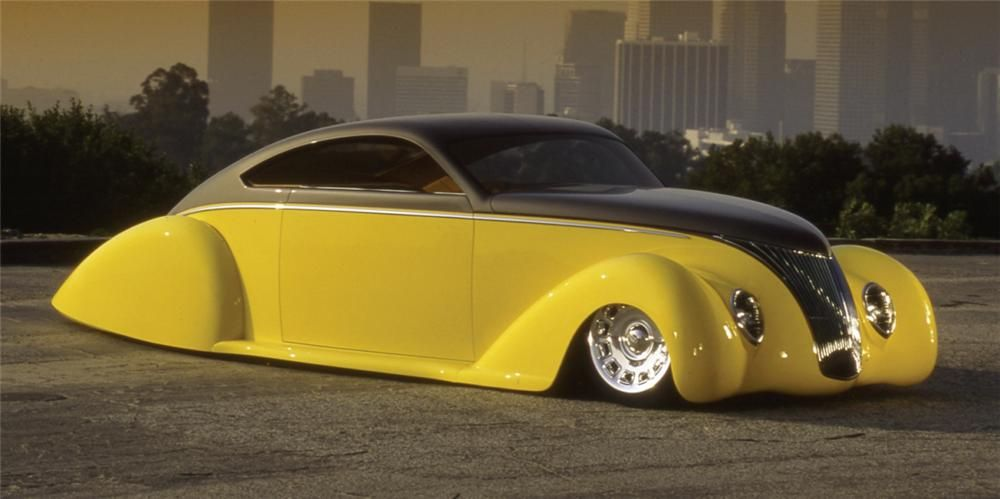 1939 Lincoln Zephyr Custom With Images Lincoln Zephyr Cool