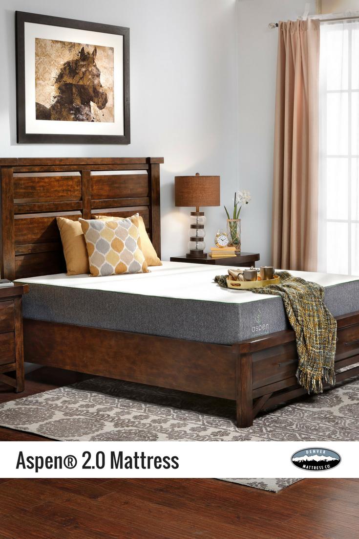 aspena 2 0 firm air foam mattress mattress denver and aspen