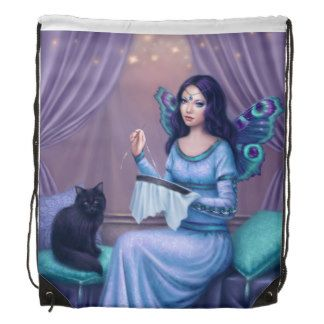 Ariadne Butterfly Fairy Drawstring Backpack