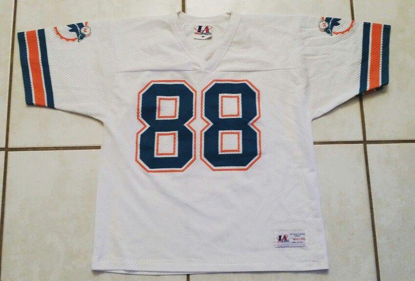1fd7e32c Rare Vintage LOGO ATHLETIC Miami Dolphins NFL Jersey | Football ...