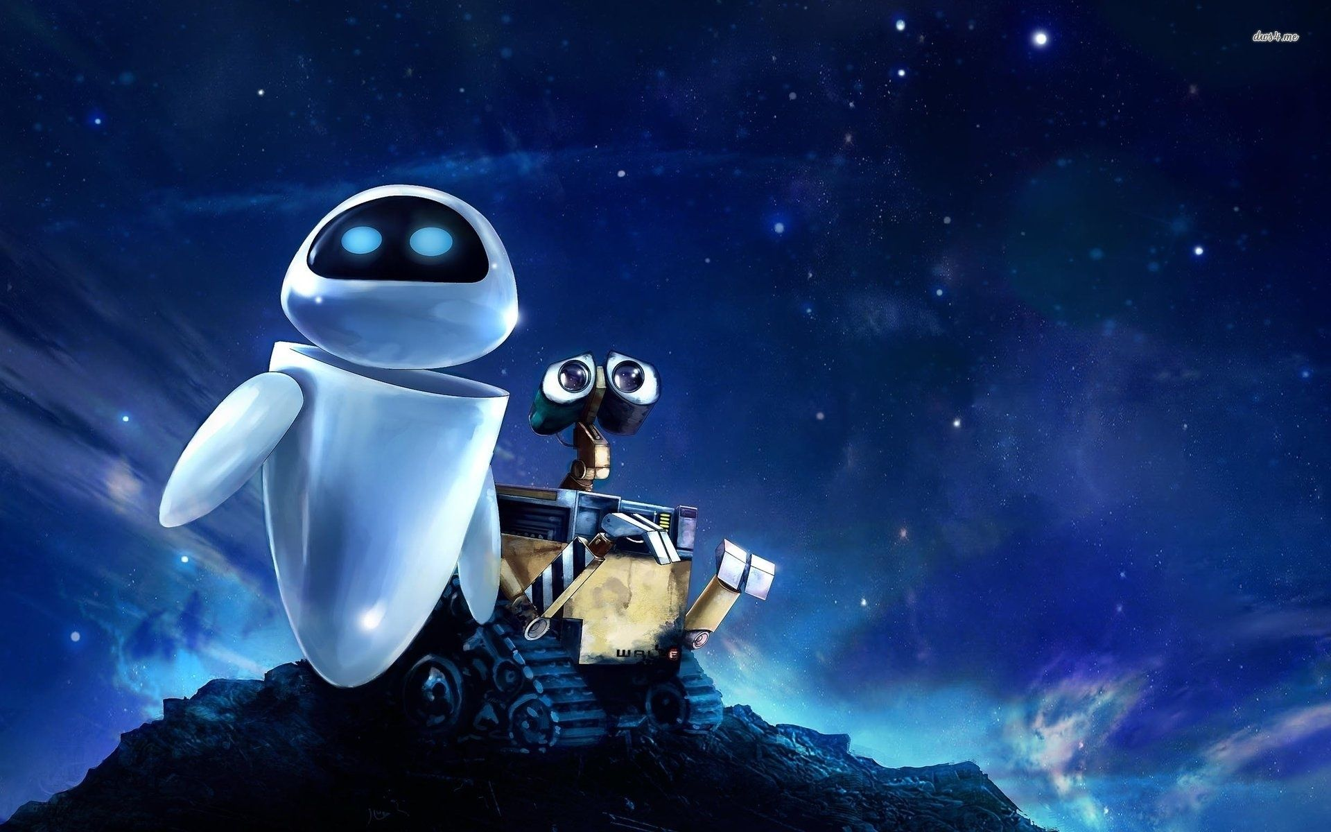 Top 10 Most Unlikely Couples In The Multiverse Wall E Eve Wall E Disney Hintergrund