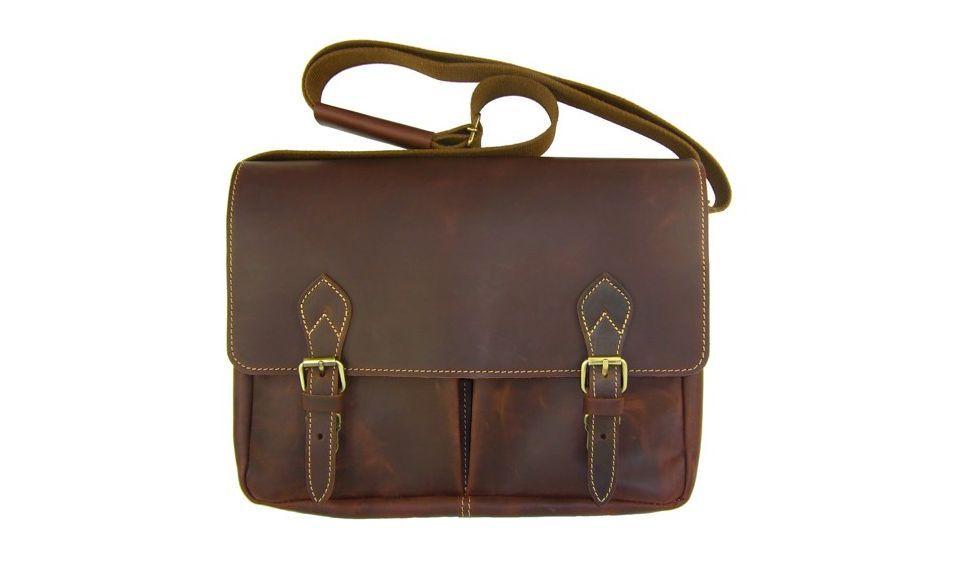 0505fb15ad *Grande besace homme en cuir, 5660 brun, marque Frandi | Sacs &  Maroquinerie homme par Espritcuir