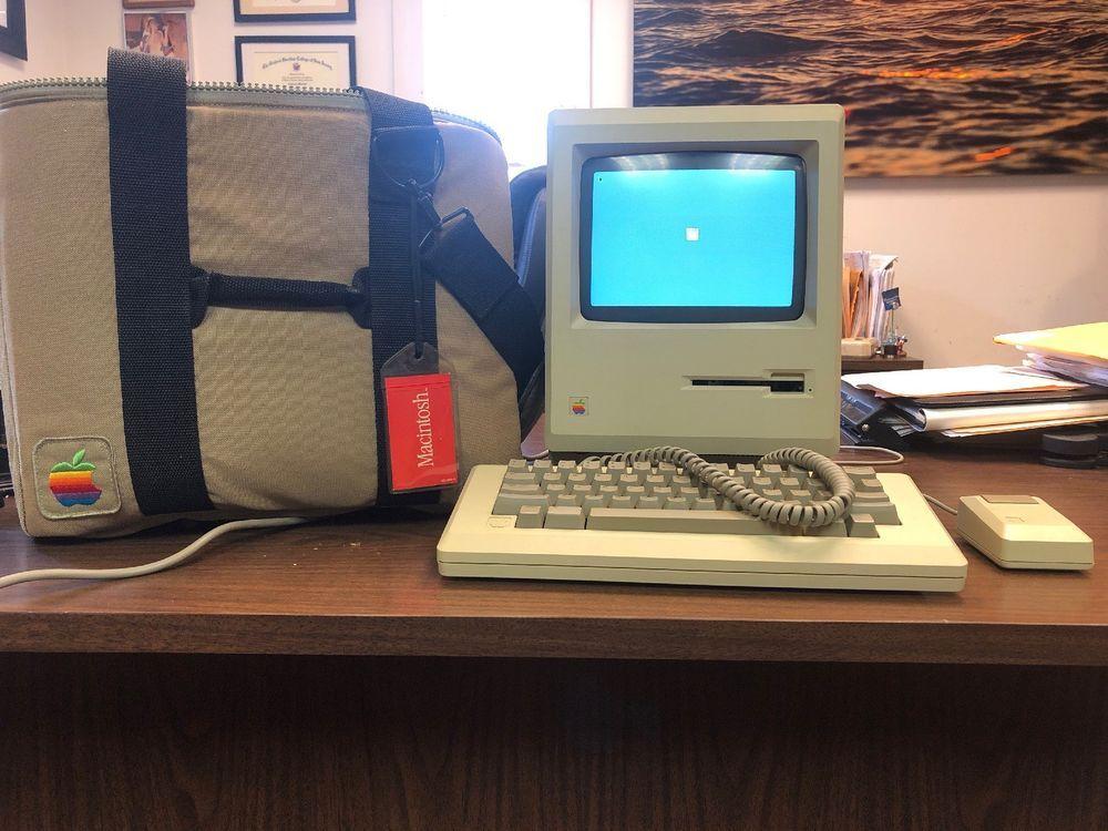 Vintage Original Apple Macintosh 512k Computer M0001w Appleinc