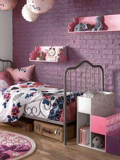Une Chambre De Petite Fille Pour Voir La Vie En Rose Deco