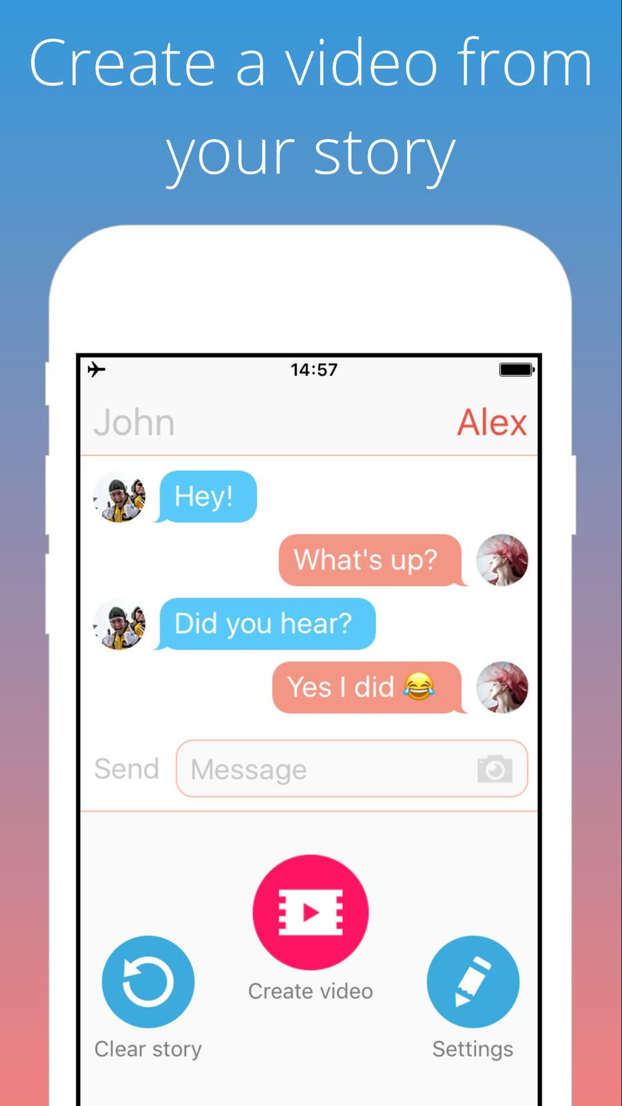 ‎TextingStory Chat Story Maker on the App Store Texting