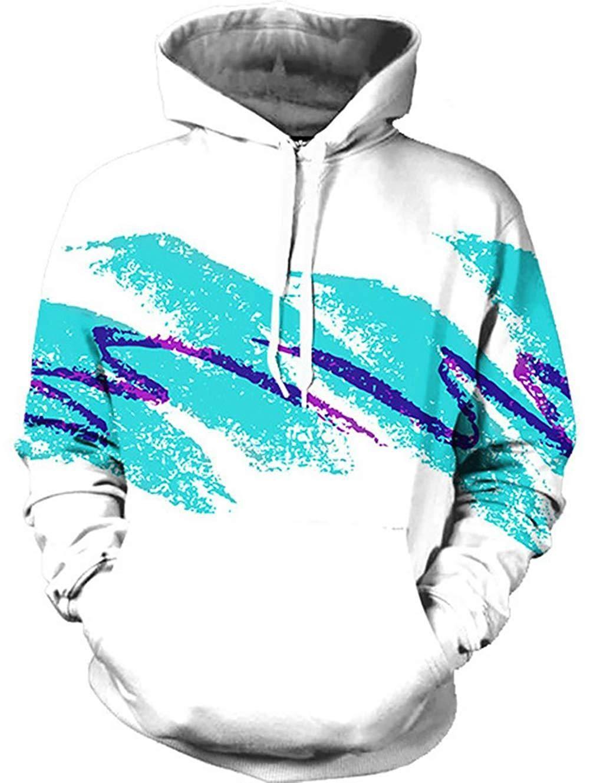 3D Print Men/'s Women Hoodie Sweater Sweatshirt Jacket Coat Pullover Graphic Tops