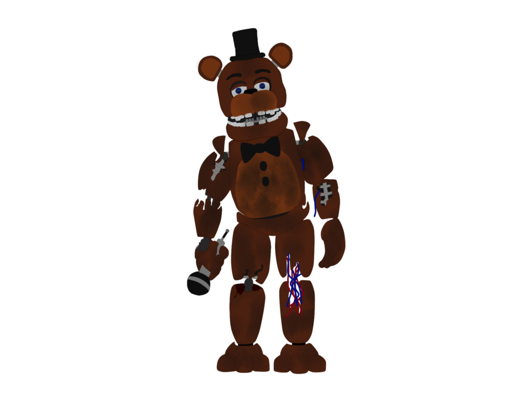 Withered Freddy Full Body - FNAF 2 by J04C0 on DeviantArt