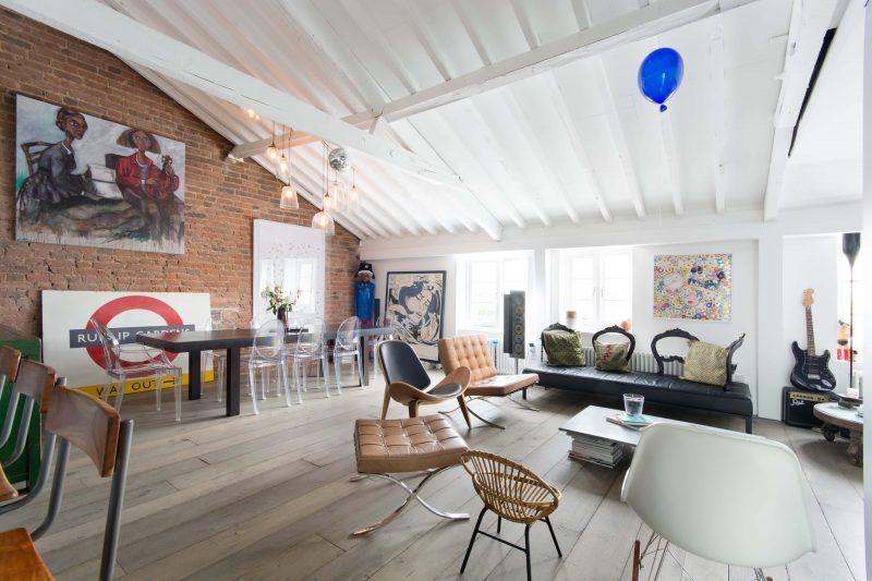 Combles aménagés en loft à Londres | Devil, Architecture and Room