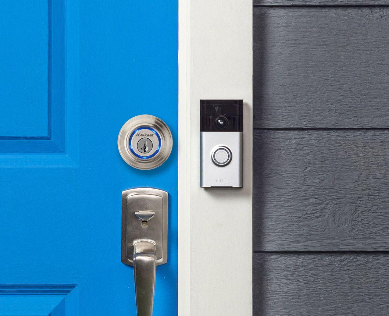Kevo Lock & Ring Video Doorbell – Front Door Camera | Kwikset Kevo ...