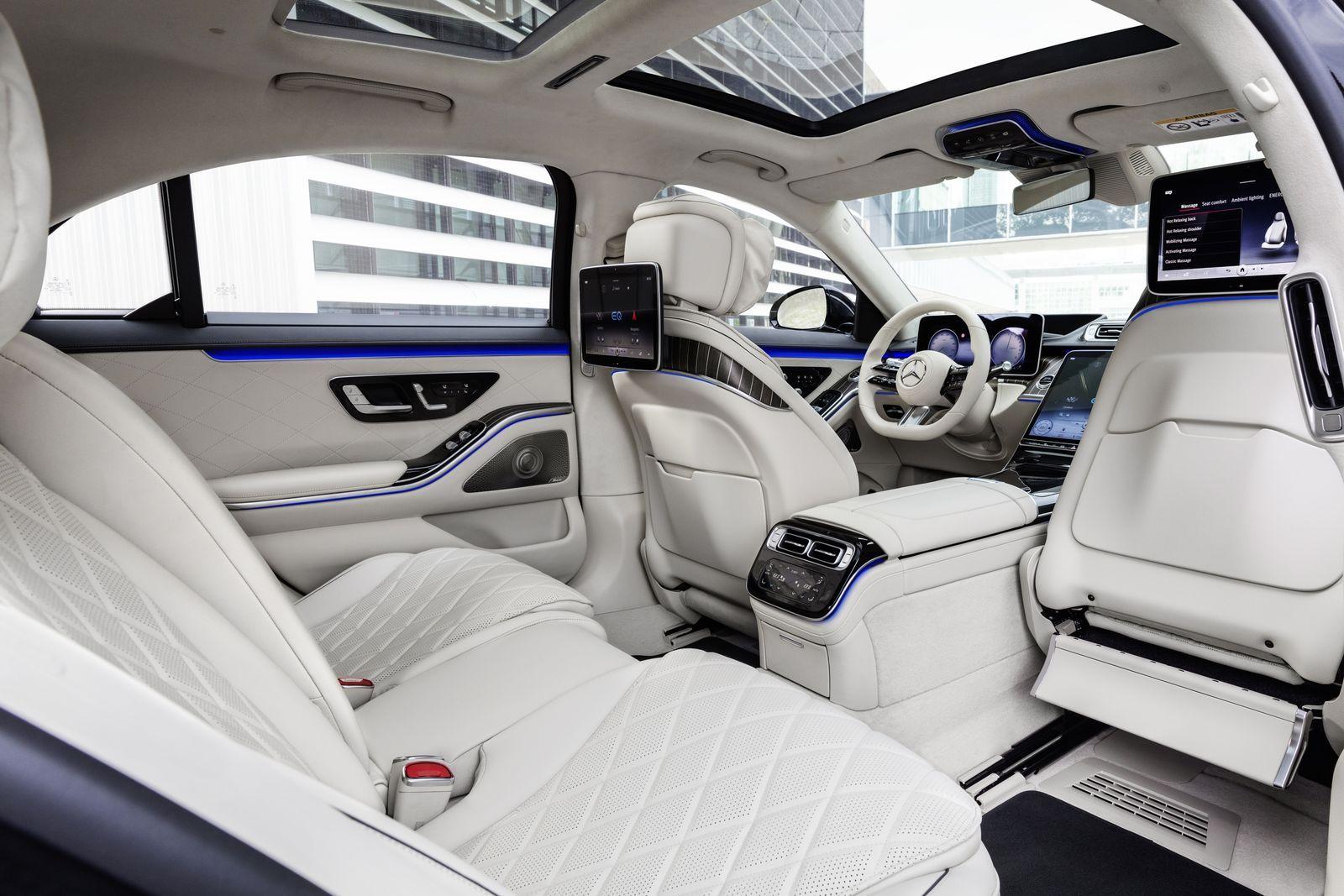 Mercedes Clase S 2021 La Berlina Más Sofisticada Ha Llegado Mercedes S Class Interior Benz S Class Mercedes S Class
